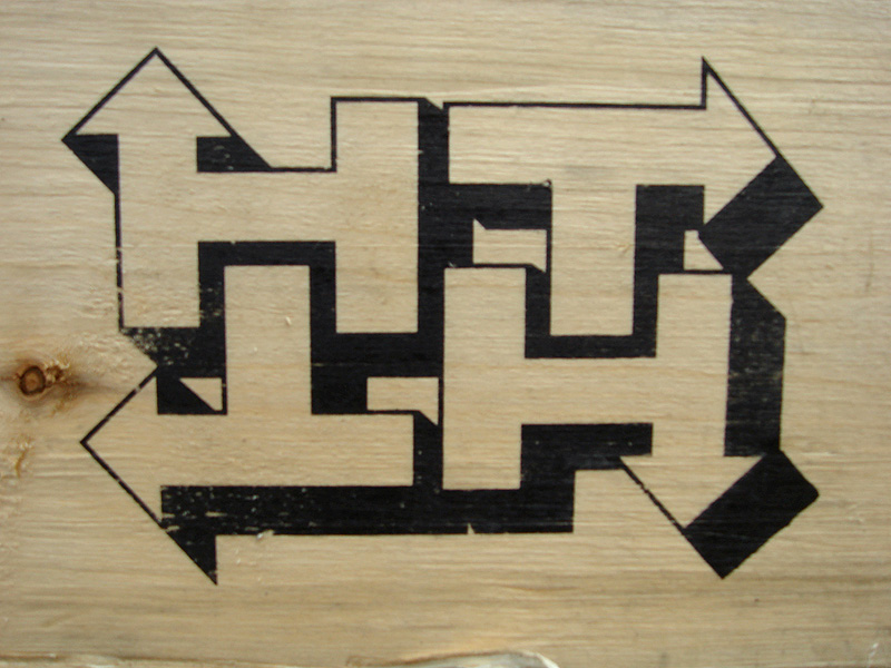 Arrows On Wood