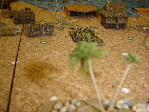 Japanese Infantry back up emplaced Artillery in 'The Pocket'