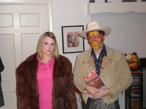 Halloween 2007: Margot Tenenbaum & Eli Cash.