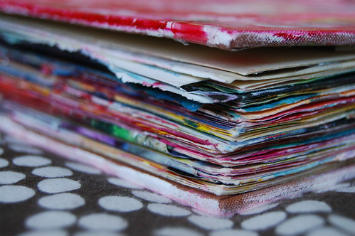 Art Journal no 7 altered book by iHanna of www.ihanna.nu