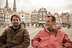 Lauch and Rob, Delft