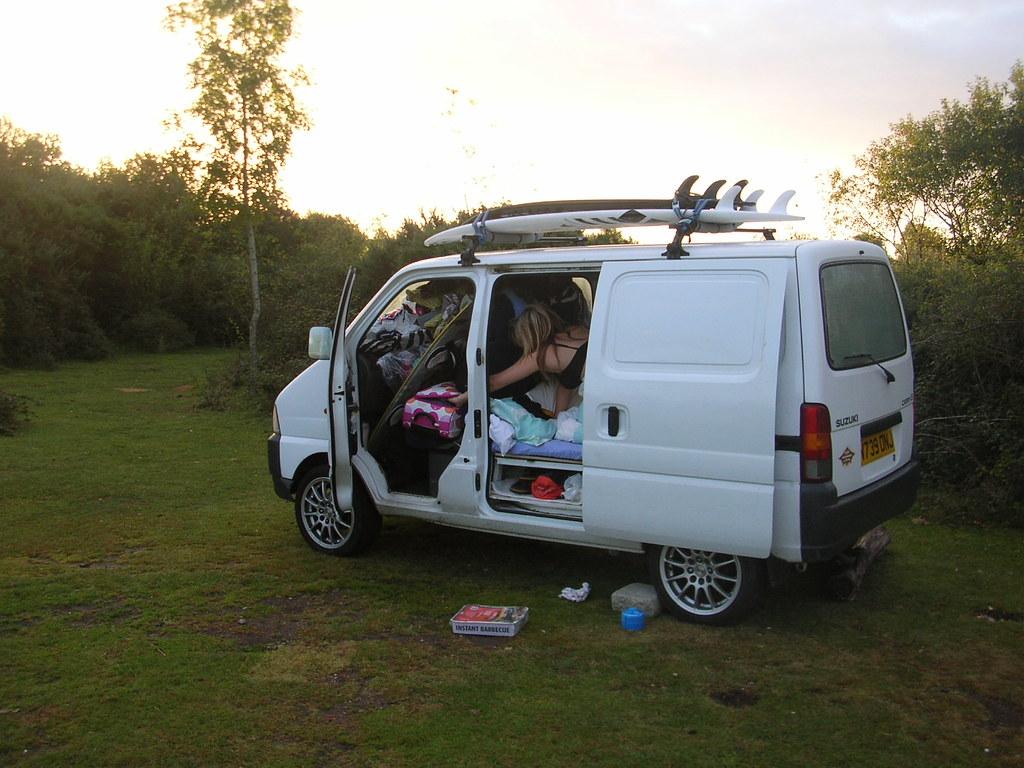 Suzuki Van Van Surf Board