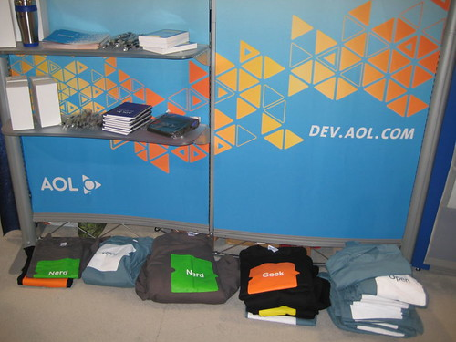Blogworld Expo AOL Dev Network Swag