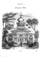02 Original Drawing of Longwood as it Appeared in Samuel Sloan's Book Published in 1861 (sunnybrook100) Tags: mississippi sloan natchez mansion antebellum longwood adamscounty octagonhouse samuelsloan