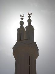 al-Qasr Minaret (upyernoz) Tags: minaret egypt mosque alqasr مصر dakhlaoasis القصر dakha الداخلة