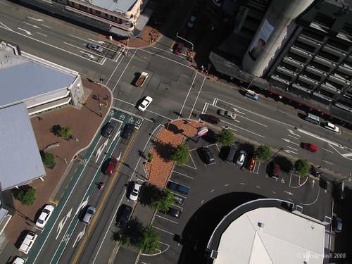 Trafalger & Halifax Streets Intersection.