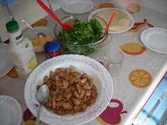 Todo listo en la mesa