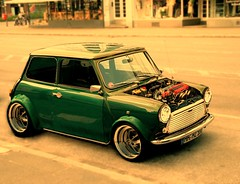 vtec mini (L.Vincenti) Tags: green engine mini minicooper b18 typer 500hp vtec b18c1 cooperhonda