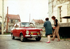 1968 - Fiat 850 Special (François Collard) Tags: oldphoto oldcar vieillevoiture fiat850special