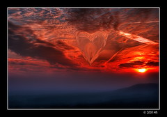 Happy Valentine's Day (Mariusz Petelicki) Tags: sunset heart hdr 3xp zachódsłońca serce happyvalentinesday walentynki canon400d aplusphoto mariuszpetelicki