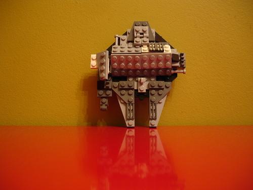 Calvin's Mini Lego Millennium Falcon
