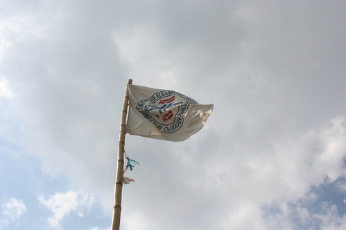 A flag over the communidad