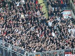 Leverkusen - Frankfurt (FLASH.light Fotografie) Tags: football fussball frankfurt soccer fans uf ul bundesliga ultras tifo bayer leverkusen fusball eintracht sge bayerleverkusen bayarena eintrachtfrankfurt uf97 bayer04 ultrasfrankfurt