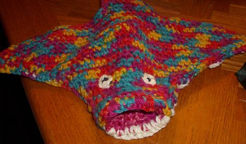 manta ray puppet