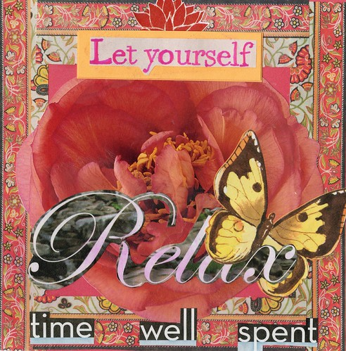 Relax Artcard Collage