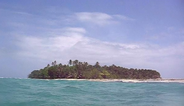 Cayo zapatilla Norte