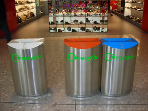 Recycling in Terminal 5