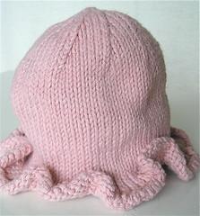 Organic Ruffle Baby Hat