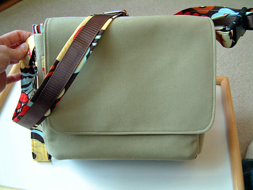 SplatGirl Messenger Bag