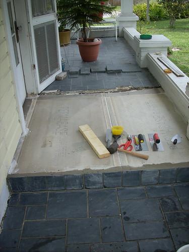 Front Porch Job - 4