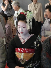 Kyoto Maiko on Pontocho