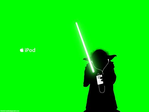 Yoda_iPod_ad_by_hitokirivader