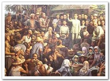 孫中山先生向南洋華僑宣傳革命思想