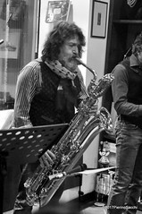 N2122833 (pierino sacchi) Tags: kammerspiel brunocerutti feliceclemente igorpoletti improvvisata jazz letture libreriacardano musica sassofono sax stranoduo
