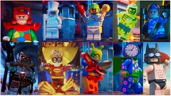 !!! WANTED !!! (Alex THELEGOFAN) Tags: lego legography minifigures minifigure minifig minifigs minifigurine minifigurines movie batman the dimensions robin fire bad guys guy clock head beach skeleton gentlemen ghost condiment king crazy quilt captain boomerang killer moth lord vortech
