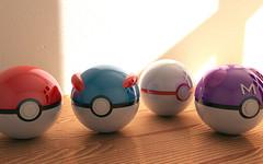 Pokeballs (igorberck) Tags: ball 3d great master pokemon pokeballs pokebola