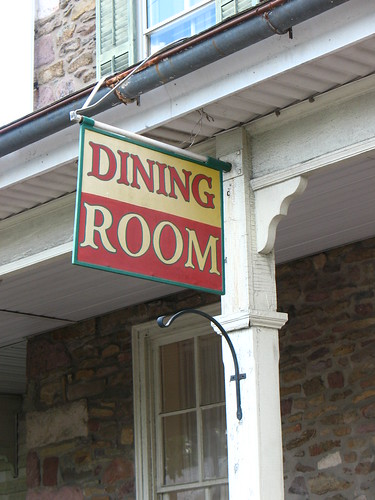 Old Dining Room sign