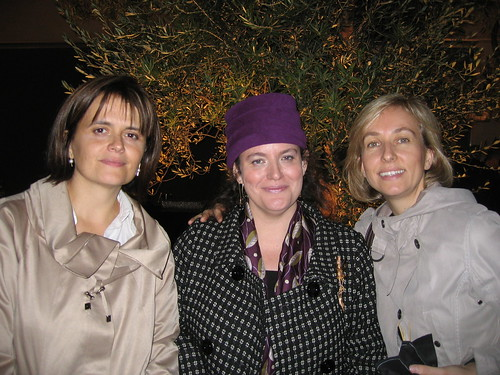 Maria Jose, myself and Laure-Amelie