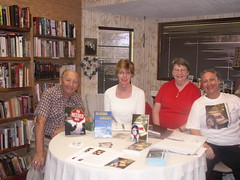 Four Authors at Poe House Books