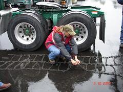 Chaining demonstration I do at work (Jenni Reynolds-Kebler) Tags: 100views