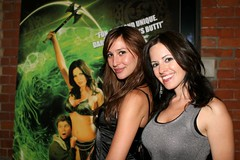 Brigitte Kingsley & Julia Schneider (Sameer Makwana) Tags: toronto film club actress actor wrapparty afterparty moviepremiere canon30d filmparty canadianmovie juliaschneider brigittekingsley