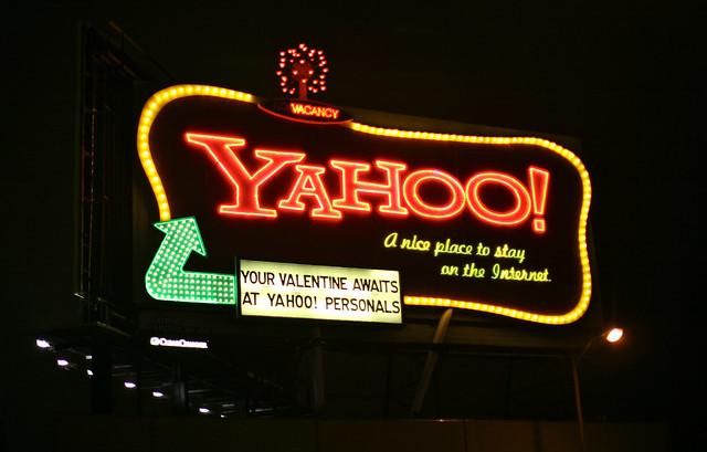 Yahoo! Neon Sign in San Francisco
