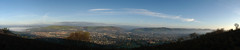Panoramic: Caerphilly At Dawn