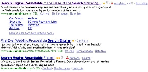 StumbleUpon Integrates into Google Results