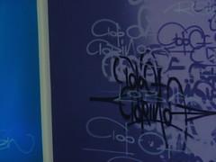 Pareti domestiche #5. (Kollaps) Tags: blue graffiti purple tag writers reser sirtwo topoftorino