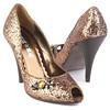 NaNa Shoes Wilma Bronze Heels