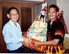 My ex-company Award dinner 2001