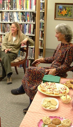 Thanksgiving Tea at the library