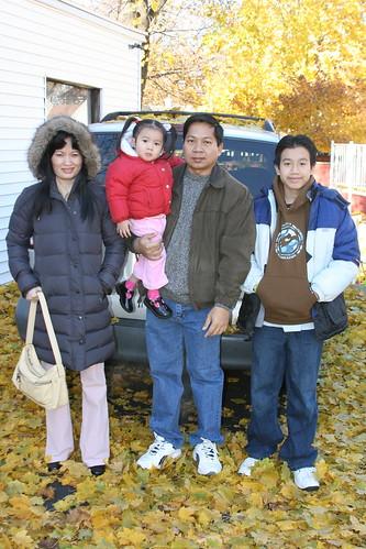 Bang Moon's family