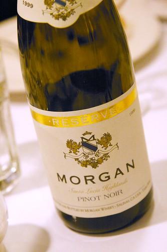 1999 Morgan Santa Lucia Highlands Reserve Pinot Noir