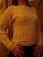 my first knit sweater