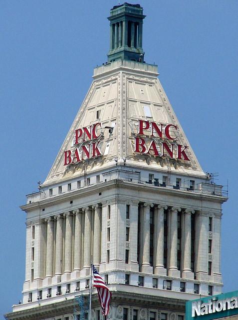 top of the PNC Tower - Cincinnati, OH