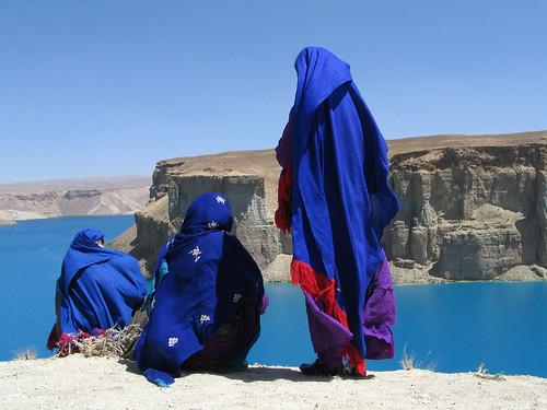 Donne sul lago Band-e Amir