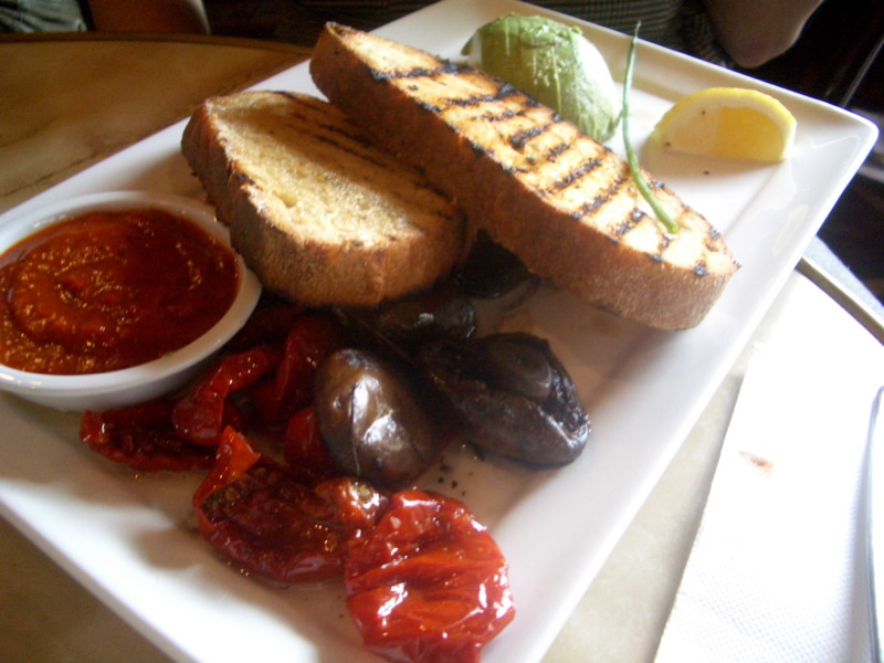 Grilled Italian Bread at Orange