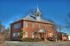 Gowensville School HDR