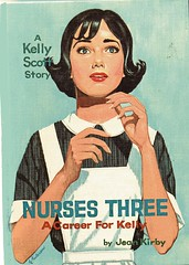 Nurses Three (sparkleneely) Tags: vintage book kid retro teen youngadult whitman hardcover